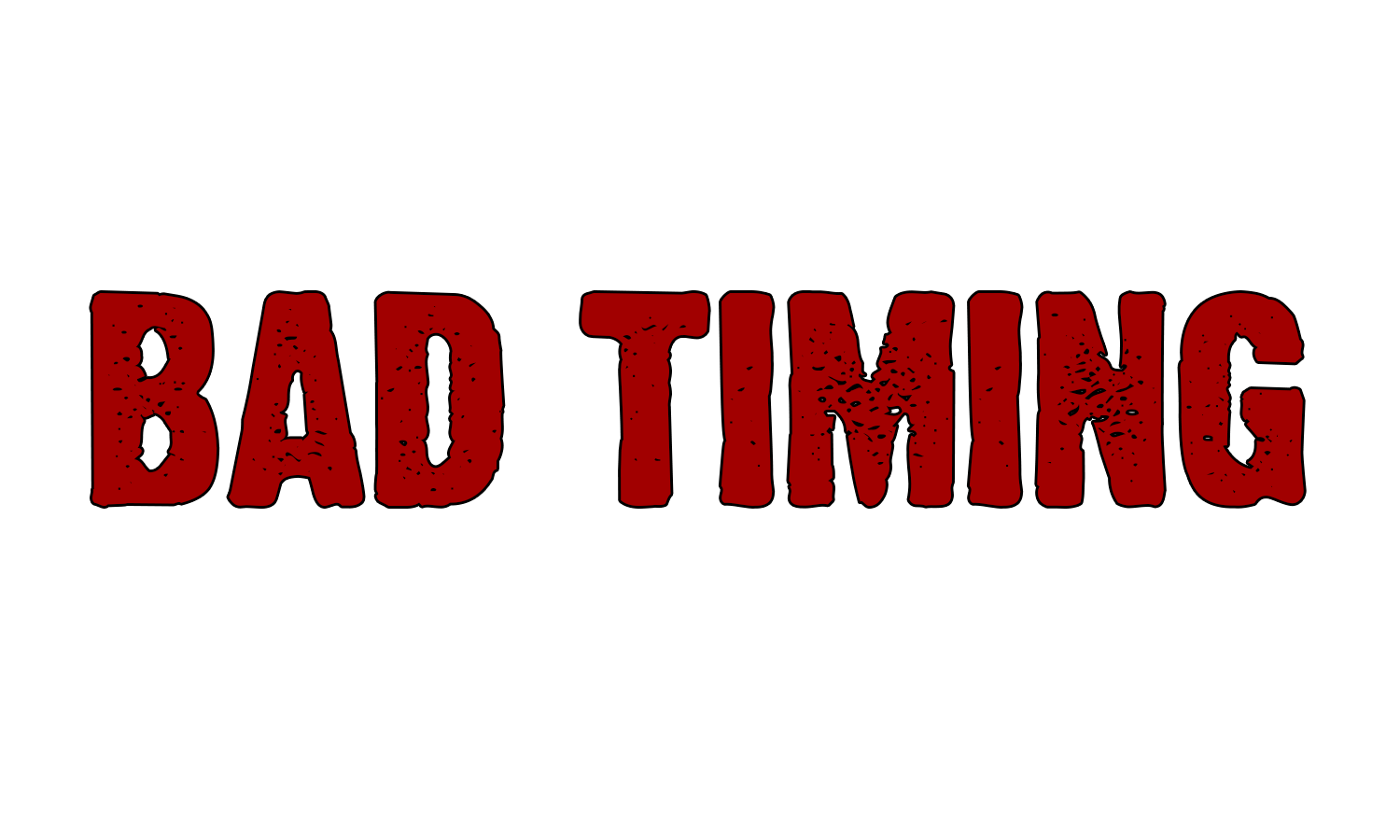 Bad Timing Logo