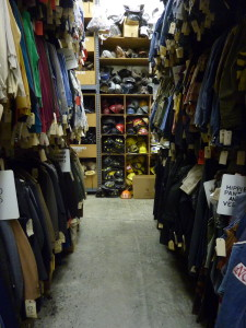 Miles of costumes to choose from at Western Costume in the San Fernando Valley.