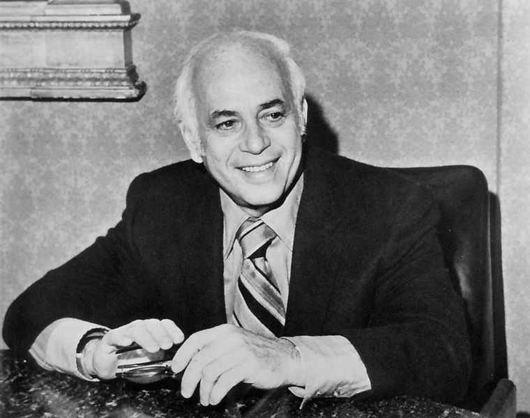 Picture of Allen Funt, creator Candid Camera