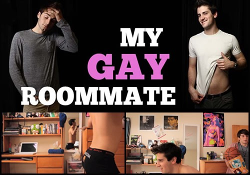 College Dorm Room Fun With Some Gays