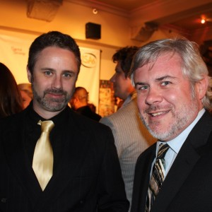 PAIRINGS star/creator Ed Robinson (L) with Carter Mason (R).