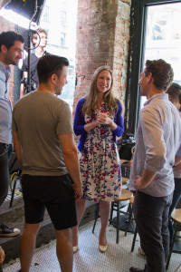 Chelsea Clinton, in conversation with the STAY REGULAR production team.
