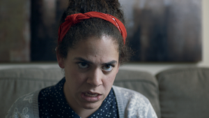 Kimia Behpoornia guest stars in BILL THE THERAPIST as Rahne, a patient in constant search of her own self-esteem.