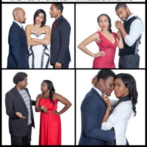 The four couples at the center of THE VALUE OF EX, created by Bridgette Michelle Lawrence, and soon to launch its second season.