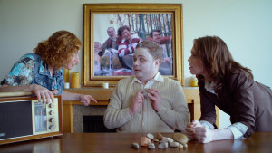 Brandon Gulya co-stars as Wolf, Terry and Colin's dull ghost roommate Edward in TRIPLETS OF KINGS COUNTY.
