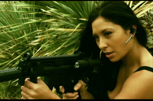 Karlee Perez (aka WWE Diva Maxine) co-stars in the new thriller THE CELL.