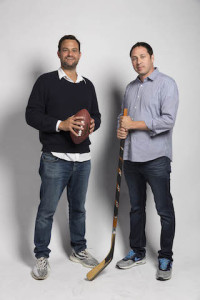 L-R: Pitchmen co-founders Jamie Patricof and Russ Axelrod.