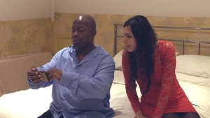 "L-R: Dave Benson Phillips and ""Mrs. Benson Phillips"" (aka GETTING BACK co-star Ana Torre)."